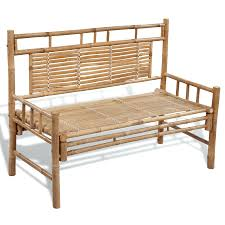 furniture made of bamboo. modren furniture bench made of bamboo with backrest thai garden furniture  outdoor sofa intended