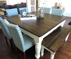 dining tables unfinished dining table um size of regard farmhouse also image just fine tables
