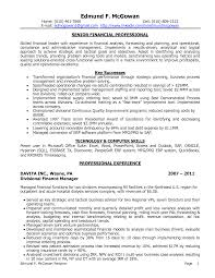 Awesome Collection Of Financial Planning And Analysis Resume Sample ...