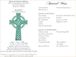 funeral mass program catholic funeral mass program template memorial u2013 sulgpro