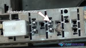how to test a relay in under 15 minutes inspect electrical terminals