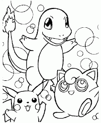 Small Picture Pokemon Coloring Pages Book Pictures Printable For Pdf Az Pagesgif
