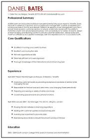 Special Skills And Qualifications Cv Sample For Expats Myperfectcv
