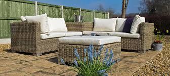 cool garden furniture. Furniture:Cool Green Garden Furniture Decor With Rattan Modern Ottoman Plus Plaid Tiles Floor Cool