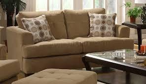 Stylish Sofas Grey Chenille Stylish Sofa Loveseat Set W Tufted Seats