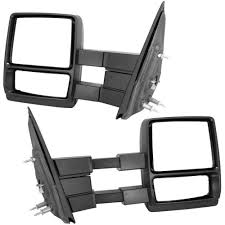 04-14 Ford F150 Pickup Truck Manual Towing Mirrors - SYPPO
