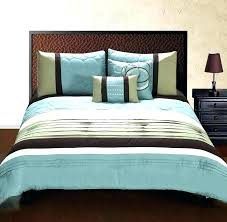 french country duvet blue brown duvet covers luxury king size bedding set queen light mint green