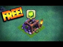 get free gems in game in clash of clans new builder hall update