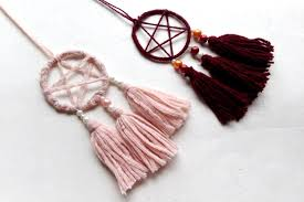 How To Make Your Own Dream Catcher Necklace Custom DIY Simple Bohemian Dreamcatcher Necklace Happy Mothering