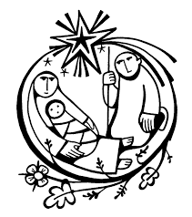 Home Coloring Pages Baby Jesus Manger