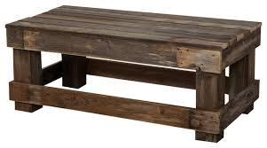 Reclaimed Coffee Table, Barnwood Rustic Coffee Tables Photo