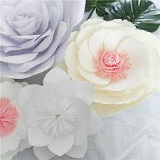 Daisy Paper Flower Giant Paper Flowers Peony Large Rose Daisy Diy Home Wedding Party Photography Background Wall Decoration Fashion Crafts