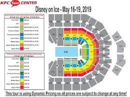 Ice Palace Seating Chart 73 Circumstantial Lane Stadium Seating Chart Rows