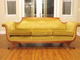 Duncan Phyfe Sofa yellow