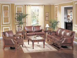 Living Room With Leather Furniture Traditional Living Room Ideas With Leather Sofas Luxhotelsinfo