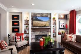 Stylish Transitional Family Room 1.1 After