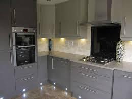 gray high gloss kitchen grey cabinet doors cupboard ikea amazing light design walls white floor shaker
