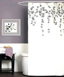gray shower curtain alluring purple curtains and best lavender ideas on home decor uk