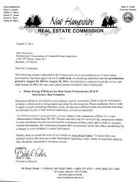 new hampshire real estate commission approves interas a view 2015 new hampshire course approval letter