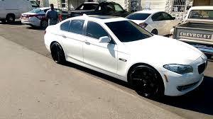 white bmw with black rims. Modren Black 8775448473 20 Inch KMC District KM685 Black Concave Rims 2014 BMW 5  Series Review Wheels Miami  YouTube On White Bmw With I