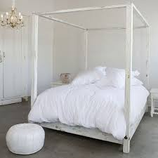 Ikea Canopy Bed Frame maybe darker. | غرف نوم | Bedroom, White ...