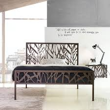 contemporary metal furniture. Image Of: Stylish Wrought Iron King Bed Contemporary Metal Furniture F