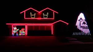 Slayer Christmas Light Show Slayer Bobs Annual Metal Christmas Lights Shows Are Here