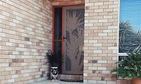 decorative security screen doors. There Is No Exposed Bare Metal, Combined With The Fact That Decoview Screens Are ALL Aluminium So Electrolysis Between Frame And Screen. Decorative Security Screen Doors