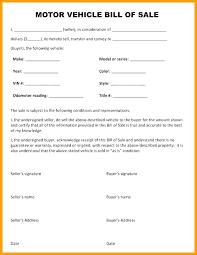 Motor Vehicle Bill Of Sale Form Pdf Bill Of Sell Template Gun Bill Of Sale Template Pdf Staycertified Co