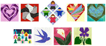 Free Paper Piecing Quilt Block Patterns from Piece By Number & blocks Adamdwight.com