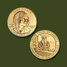 Jane Pierce 10 Dollars Coin | Mintage World
