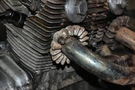 r4l 2013 exhaust leak or crud burning off