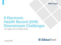 Matrix Electronic Charting 8 Electronic Health Record Ehr Downstream Challenges