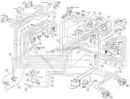 Car golf cart wiring diagram gas club car golf cart wiring diagram rh casiaroc co