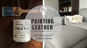 how to paint leather furniture. a couple of years ago by husband and i bought new couch as very belated wedding present the old leather love seat chair handmedowns how to paint furniture