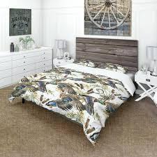 designart ilration of colored duck modern trendy duvet covers modern duvet covers king size