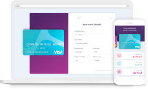 virtual cards screens mockup 2x