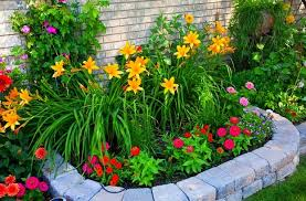 Small Picture Stunning Flower Garden Design Ideas Photos Home Design Ideas