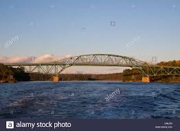 Tide Chart Kennebec River Bath Maine Bridge Over The Kennebec River In Bath Maine Stock Photo