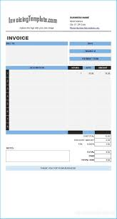 Astonishing Invoice Template In Excel 2007 To Make Blank
