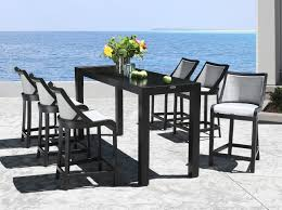 pool bar furniture. Outdoor Bar Stools Strike An Exceptional Modern Style Into Any Pattern On Your Dining Or Kitchen. Whether The Patio Furniture Setting Is At Pool L