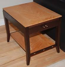 wenge  quilted maple end tables  finewoodworking