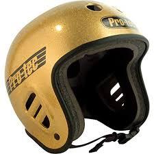 Protec Size Chart Amazon Com Protec Fullcut Gold Flake Small Helmet
