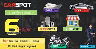 Carspot Automotive Car Dealer Wordpress Classified Theme