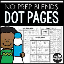 Kindergartners can now complete the worksheets even if they do not have a. Blend Dab Beginning Blends Worksheets This Reading Mama