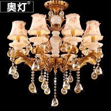 get ations austrian red bronze chandelier crystal chandelier lamp fabric lamp bedroom living room dining k9 crystal hanging