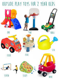 gift guide for 2 year olds- outdoor toys | Motherhood Toddler Toys
