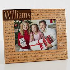 Family Name 5x7 Personalized Picture Frame Christmas Clearance