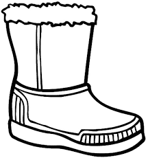 Small Picture Winter Boots Coloring Pages GetColoringPagescom