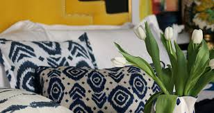 Sainsburys Bedroom Furniture Swoonworthy Guest Post Spring Refresh With Moroccan Blue